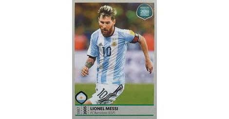 PANINI WORLD CUP 2018 ADESIVI la Russia # 288 Lionel MESSI Argentina//Barcellona