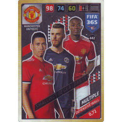 Chris Smalling / David De Gea / Eric Bailly - Manchester United