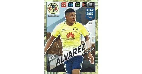d4b30debc90 Edson Álvarez - Club América - carte 251 FIFA 365   2018 Adrenalyn XL