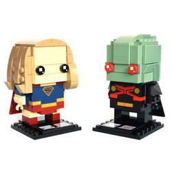 13 & 14 - Supergirl & Martian Manhunter