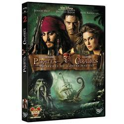 DVD Pirates des Caraïbes - Le Secret du Coffre Maudit