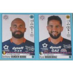 Anthony Vanden Borre - Ryad Boudebouz - Montpellier