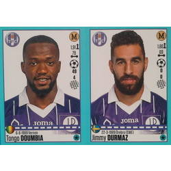 Tongo Doumbia - Jimmy Durmaz - Toulouse