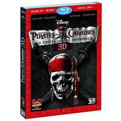 Bluray Pirates des Caraïbes : La Fontaine de Jouvence