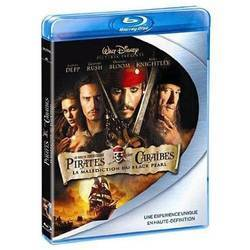 Bluray Pirates des Caraïbes - La malédiction du Black Pearl