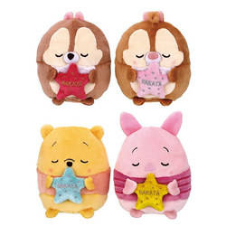 Chip, Dale, Winnie and Piglet Hakata Set