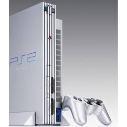 PlayStation 2 - 50 Millionth Edition - Metallic Silver