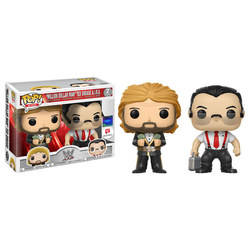 WWE - Million Dollar Men Ted Dibiase and I.R.S 2 Pack
