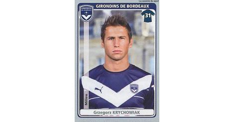 GRZEGORZ KRYCHOWIAK # POLAND GIRONDINS BORDEAUX CARD PANINI ADRENALYN 2012