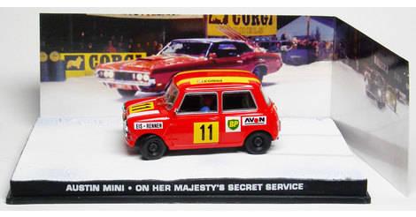 Austin Mini The James Bond Car Collection Model