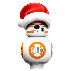 BB-8 with Santa Hat