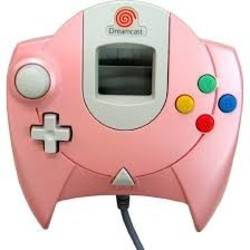 Manette Dreamcast Pearl Pink