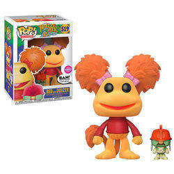 Fraggle Rock - Red with Doozer Flocked
