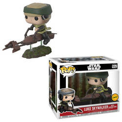 Luke Skywalker with Speeder Bike