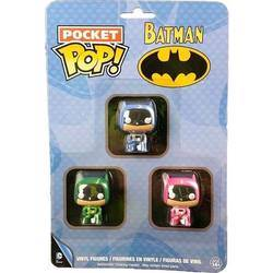 Blister - Batman - Blue, Pink and Green 3 Pack