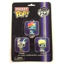 Blister - My Little Pony - Rainbow Dash, Discord and Derpy 3 Pack