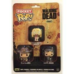Blister - The Walking Dead - Rick Grimes, Daryl Dixon and Teddy Bear Walker 3 Pack