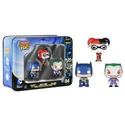 Tinbox - DC Comics - Batman, Harley and Joker 3 Pack