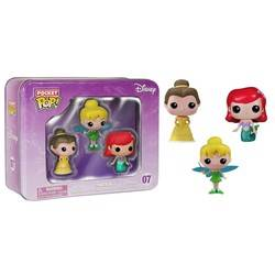 Tinbox - Ariel, Tinkerbell and Belle 3 Pack