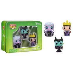 Tinbox - Maleficent, Evil Queen and Ursula 3 Pack