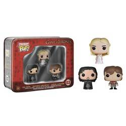 Tinbox - Game Of Thrones - Jon Snow, Tyrion and Daenerys 3 Pack