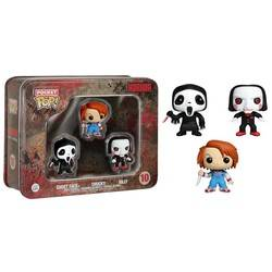 Tinbox - Horror - Ghostface, Chucky and Billy 3 Pack
