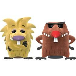 Angry Beavers - Norbert and Daggett Flocked 2 Pack