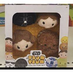Target Collector Set Star Wars Darth Vader, Han Solo, Princess Leia and Chewbacca