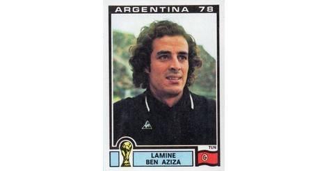 Panini WORLD CUP ARGENTINA 78 N 168 BEN AZIZA TUNISIE