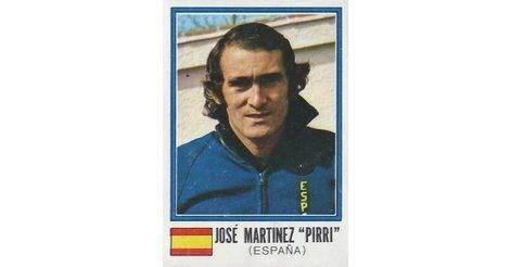 374 PIRRI ESPANA PANINI FIFA WORLD CUP MUNCHEN 74 N
