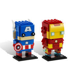 Iron Man & Captain America 2 Pack