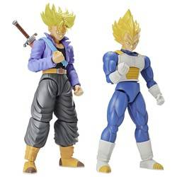 Dragon Ball Z - Super Saiyan Trunks and Super Saiyan Vegeta DX Set