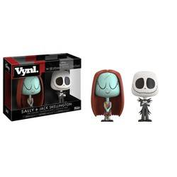 The Nightmare Before Christmas - Sally + Jack Skellington