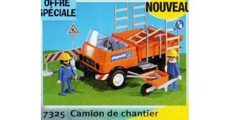 Camion de chantier playmobil chantier 7325 - Playmobil camion chantier ...