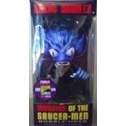 Invasion of the Saucer-Men Metallic Blue
