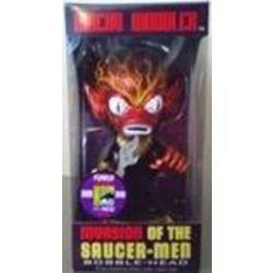 Invasion of the Saucer-Men Metallic Red