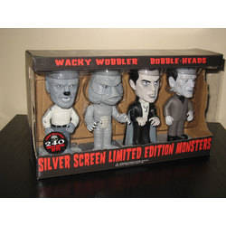Universal Monsters - Silver Screen Monsters 4 Pack