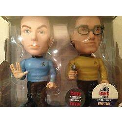 The Big Bang Theory - Sheldon and Leonard Star Trek 2 Pack