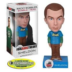 The Big Bang Theory - Sheldon Batman Blue Shirt