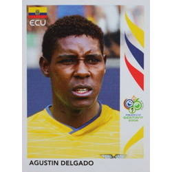 Panini 87 Edwin Tenorio Ecuador FIFA WM 2006 Germany
