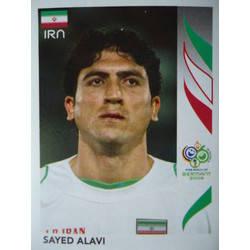 268 Panini WORLD CUP 2006-Hossein Kaebi Irán no