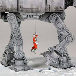 Mini Bookends AT-AT Walker Variant