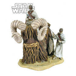 Bantha and Tusken Raider Variant