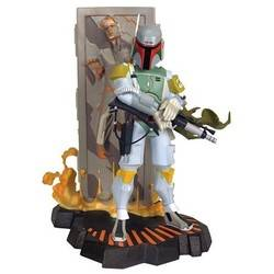 Boba Fett with Han Solo Carbonite
