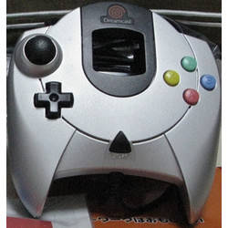 Manette Dreamcast Metallic Silver