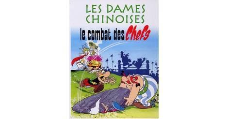 Jeu les dames chinoises Asterix le combat des Chefs