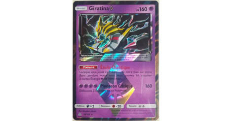 giratina prisme etoile holographique carte pokemon