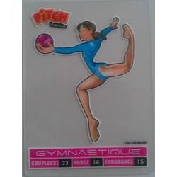 Gymnastique Carte transparente