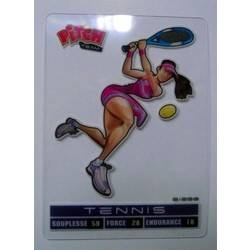 Tennis Carte transparente