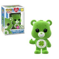 Care Bears - Good Luck Bear Flocked